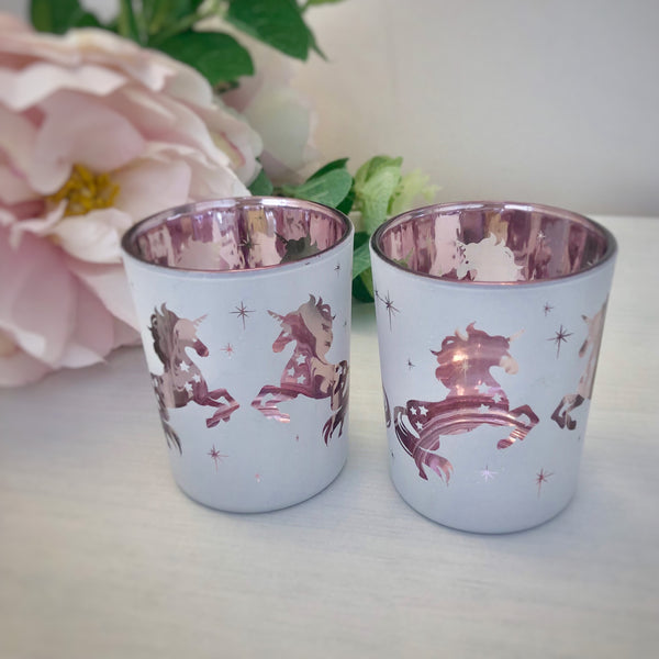 Unicorn Tea Light Candle Holders