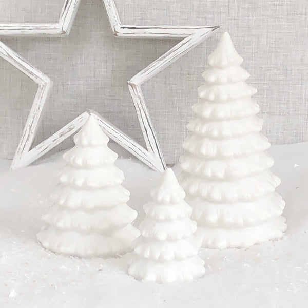 LED White Christmas Tree
