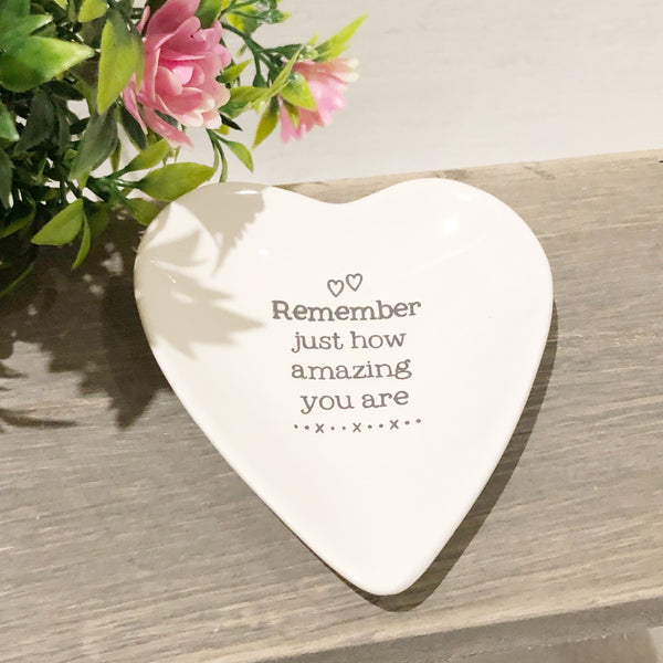 Small trinket dish - remember how amazing you are