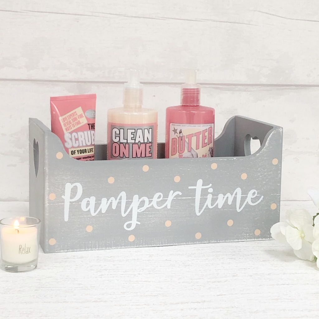 Pamper Time Storage Box