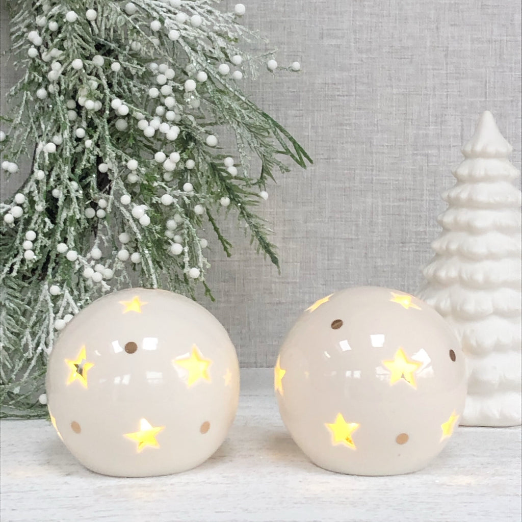 LED light up star ball