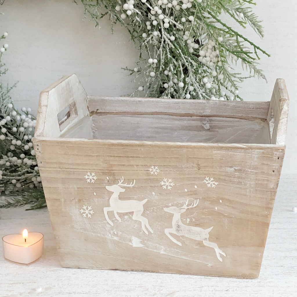 Medium Wooden Hamper Crate