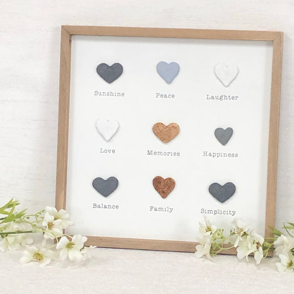 Heart Framed Plaque