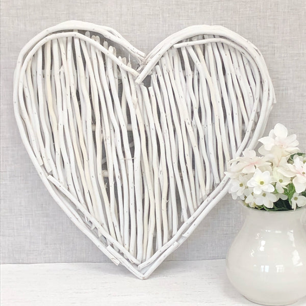 Large White Heart