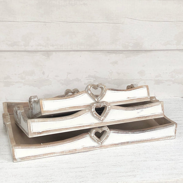 Heart Rectangle Trays
