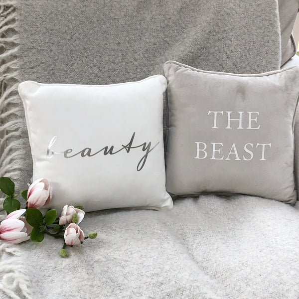 Beauty & the Beast cushion