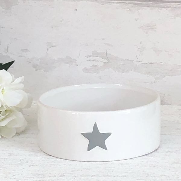 White Star Pet Feeding bowl