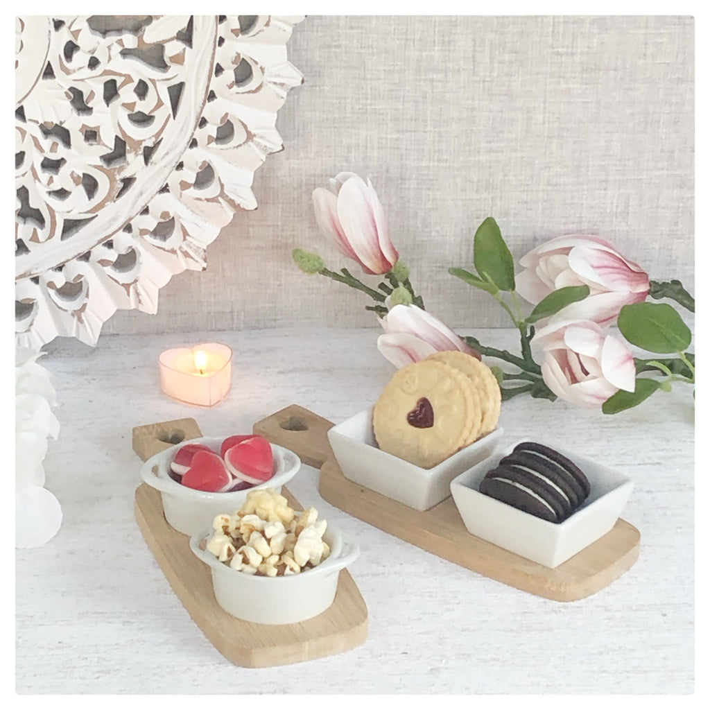 Snack Dishes Set of 2