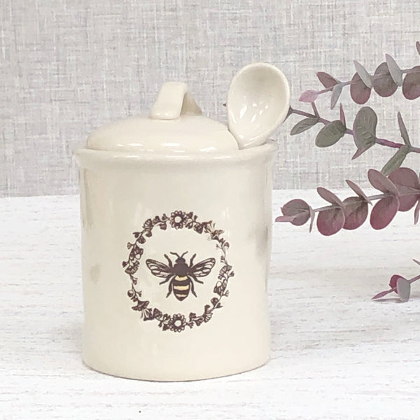 Bee Sugar Pot