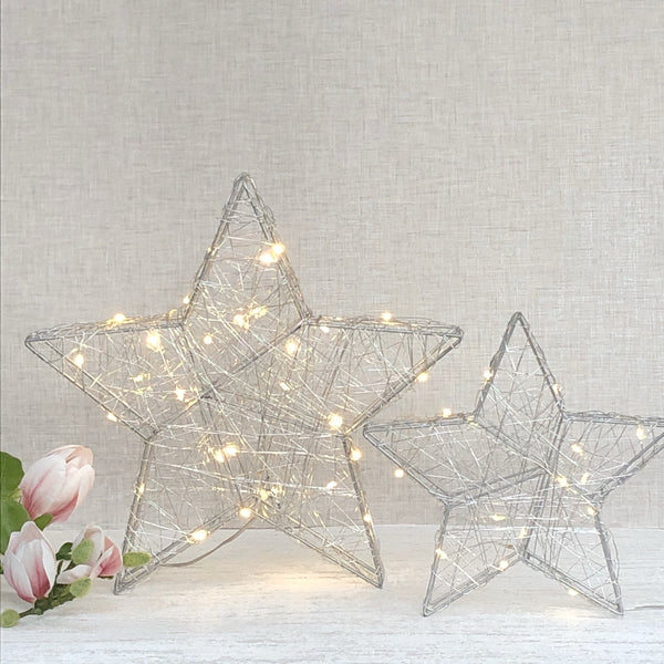 Sparkly light up  star