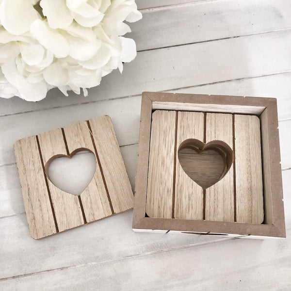 Heart Coaster Set