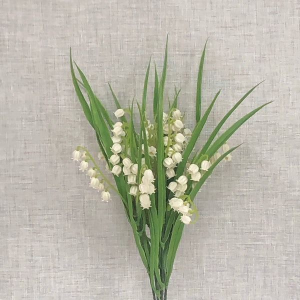 Faux lily of valley bunch
