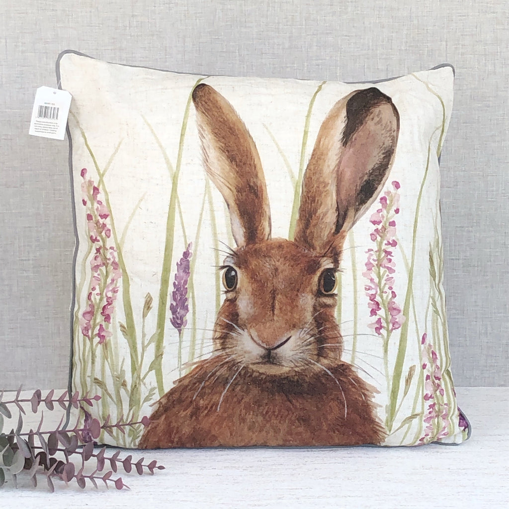 Large Hare Cushion