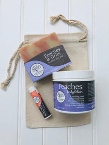 Love You to Peaches Gift Set