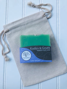 Kudzu and Gnats avocado and shea butter soap