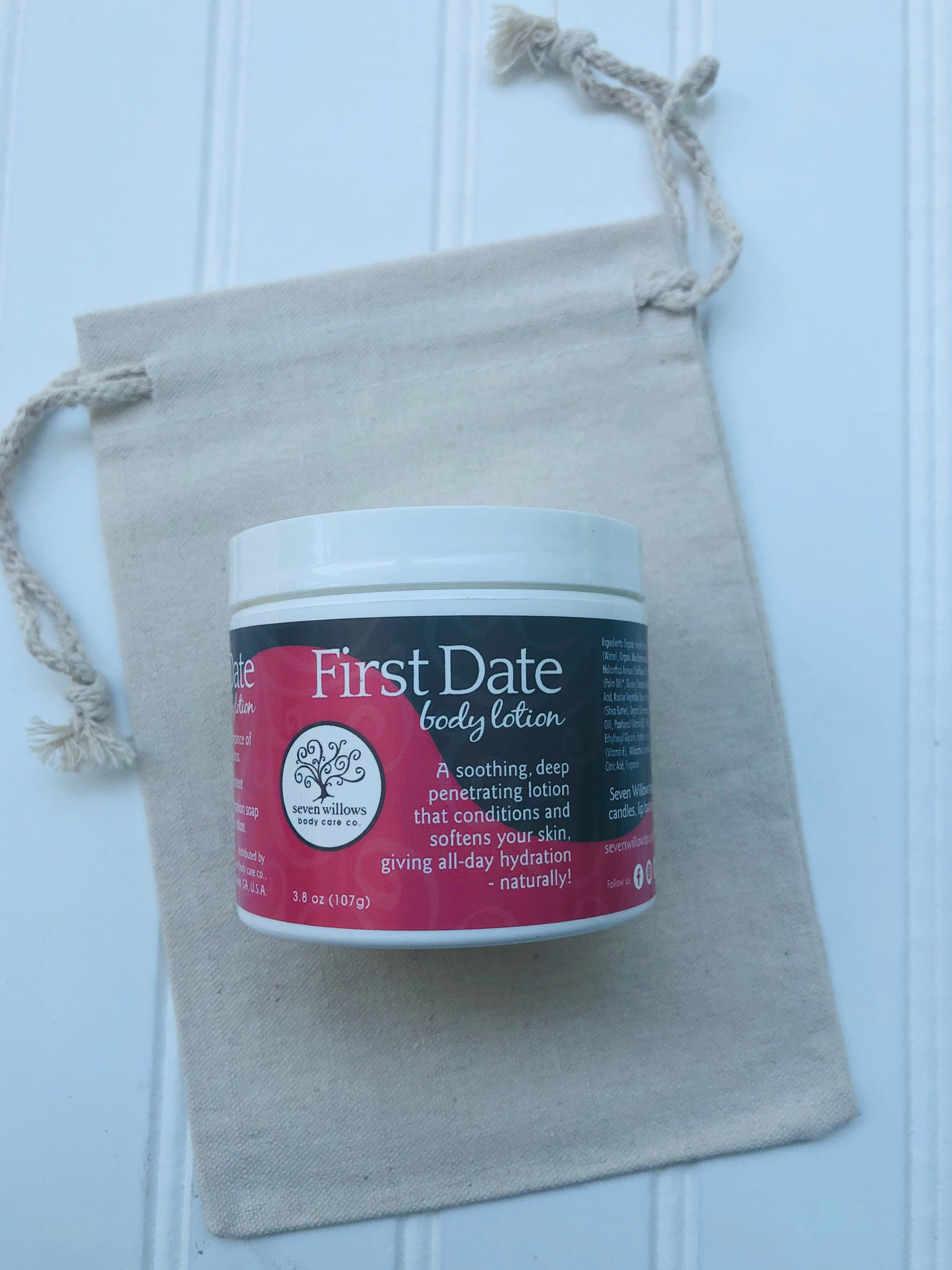First Date body lotion