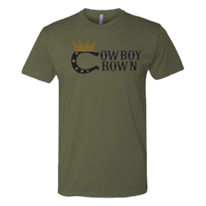 In Demand Men's Military Green T-Shirt