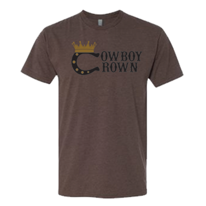 Versatile Men's Brown T-Shirt