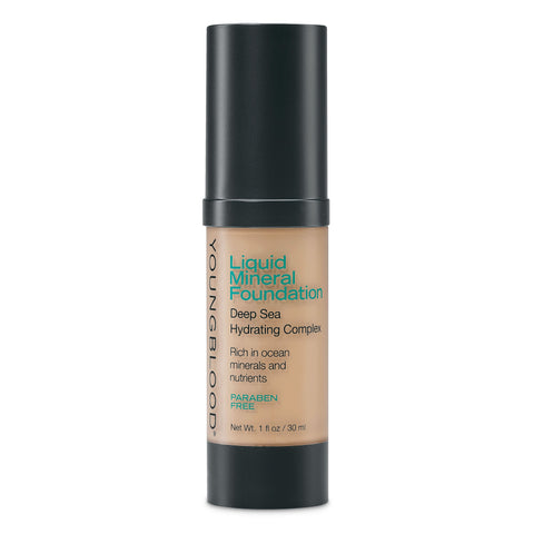 Liquid Mineral Foundation - Golden Tan