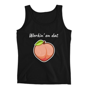 Love Thy Neighbour - life is peachy tank top black