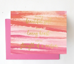 Greeting Card- Beautiful Soul