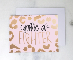 Greeting Card- Fighter