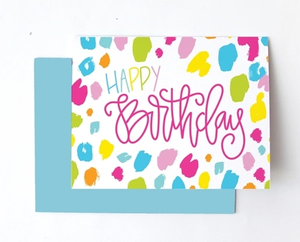 Greeting Card- Happy Birthday