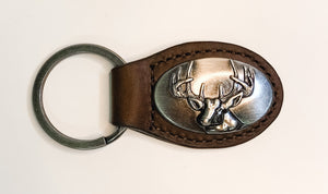 Concho Key Chain - Buck