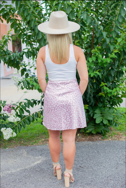 Rose Mini Skirt