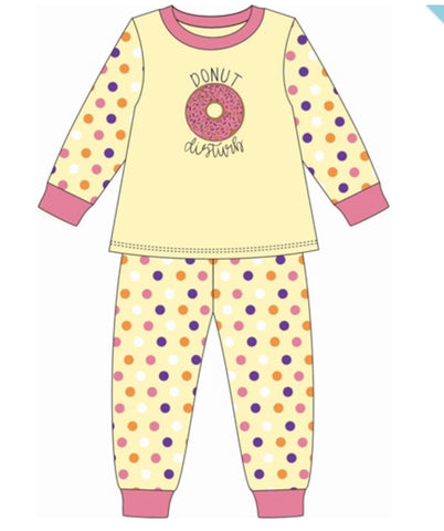 Donut Disturb Pajamas