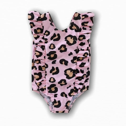 Kids Leopard Swimsuit