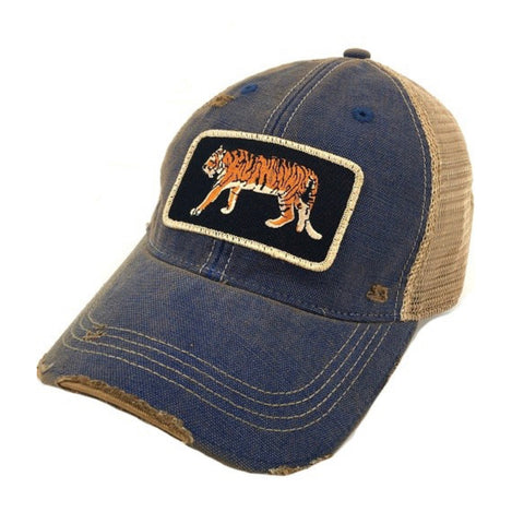Judith March Eye of The Tiger Patch Hat