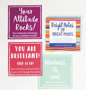 Bright Notes Card Booklet