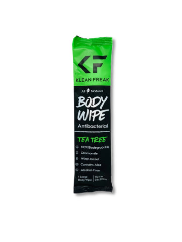 Klean Freak Body Wipe - Tea Tree