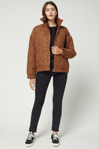 Spotted Puffer Jacket