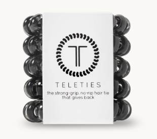 Teleties-Jet Black-Tiny
