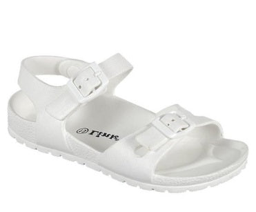 Kid White Sandal