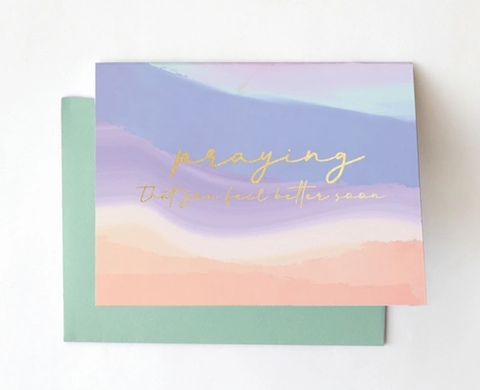 Greeting Card- Better Soon