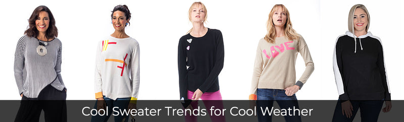 Top Sweater Trends We'll See This Fall