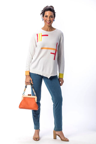 Ten Oh 8 Tetris Sweater | Evelyn and Arthur Clothing