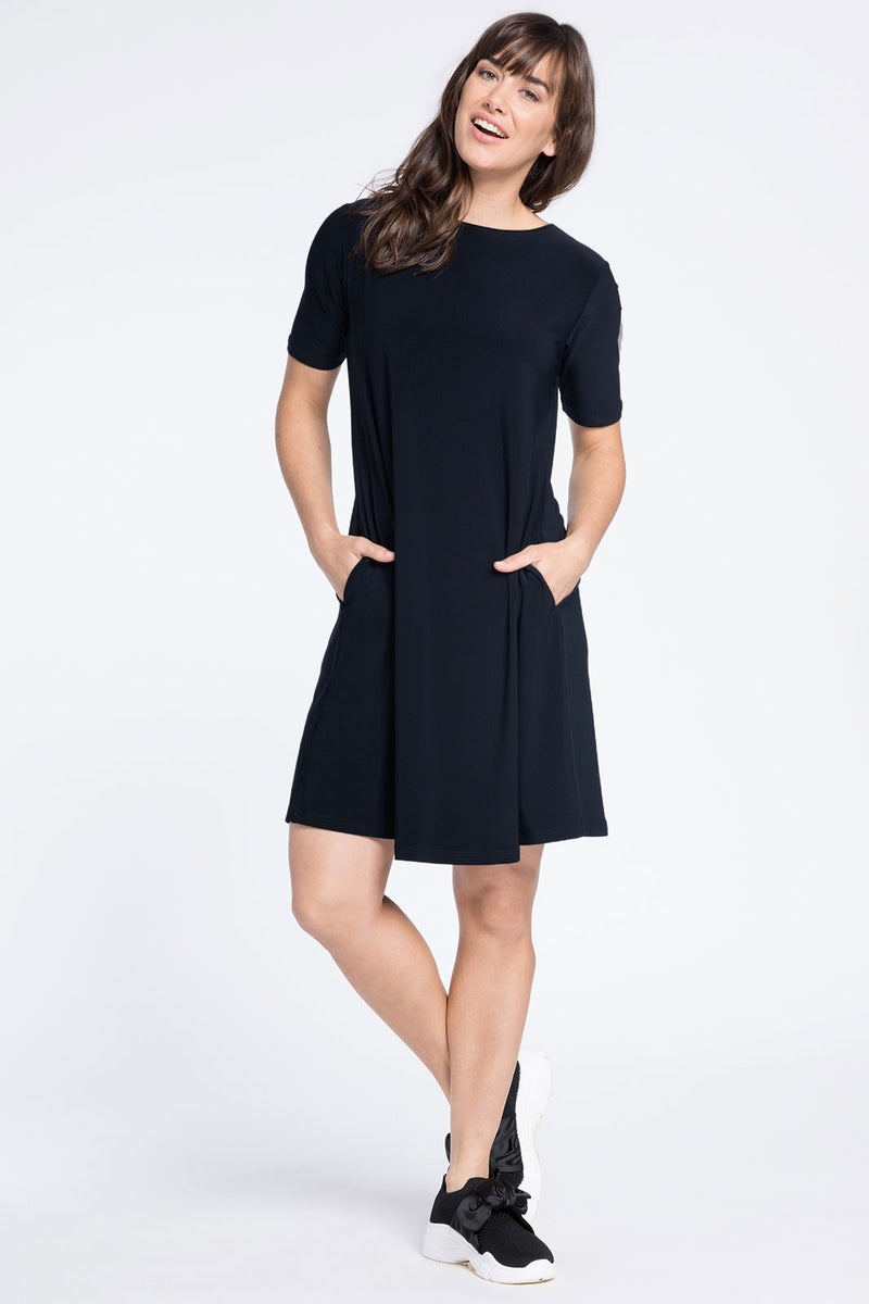 Sympli Trapeze Dress