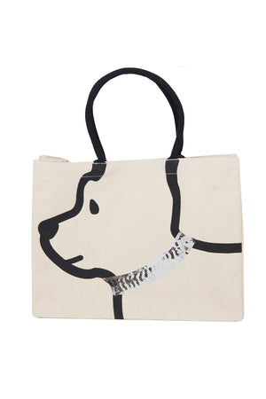 Canvas Dog Tote_9462583361634