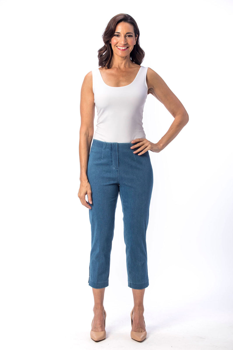 Holland Ave Susan Denim Crop Pant