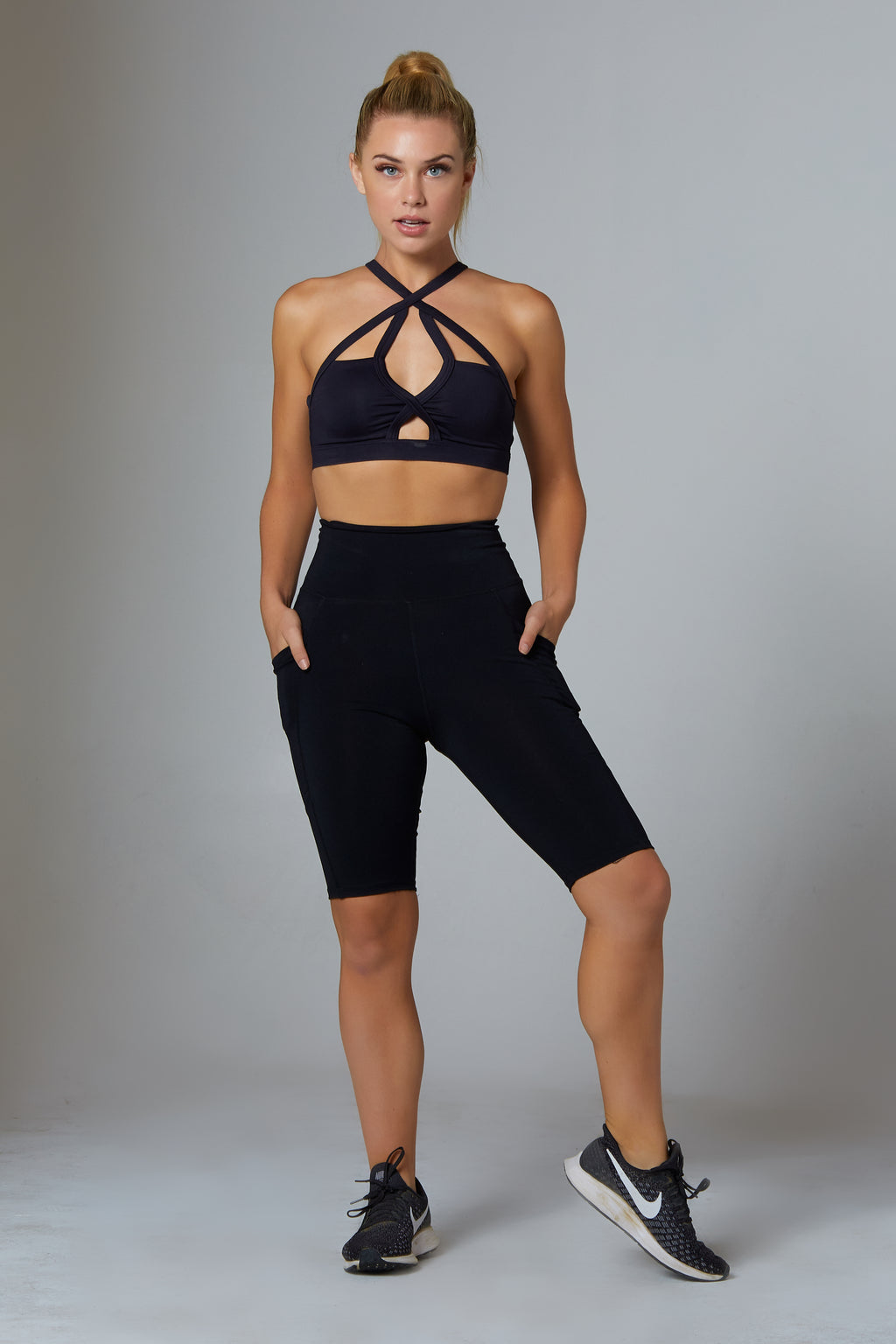 High Rise Biker Shorts - bodyloveathletica