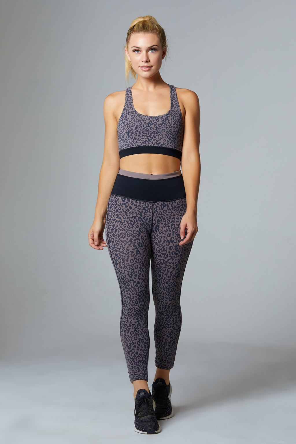 Leopard High Rise Leggings - bodyloveathletica