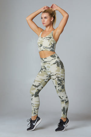 Camo High Rise Leggings - bodyloveathletica