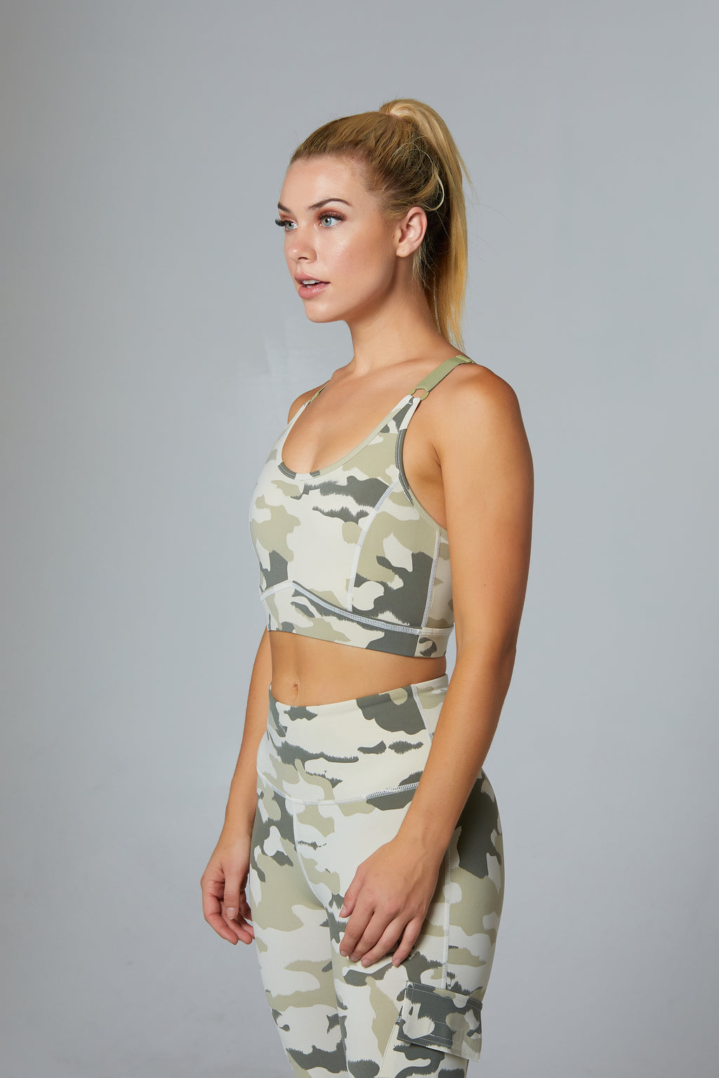 Camo Sports Bra - bodyloveathletica