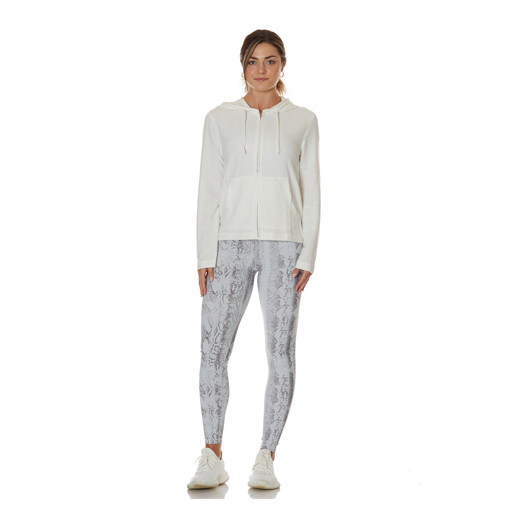 Ivory Extra Soft Zip Up