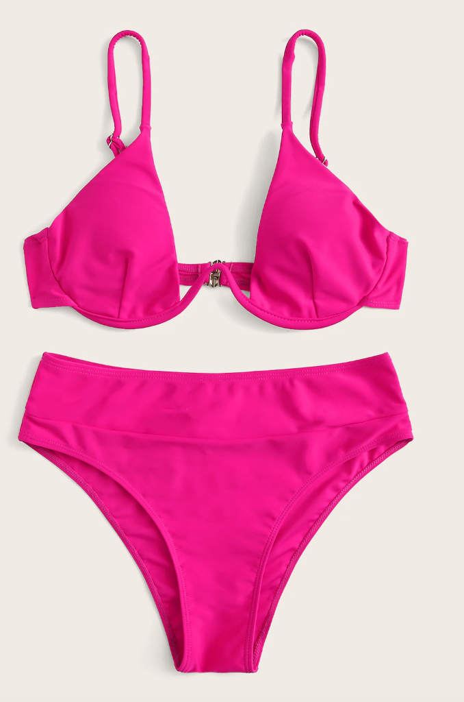 Neon Pink Bikini Set - bodyloveathletica