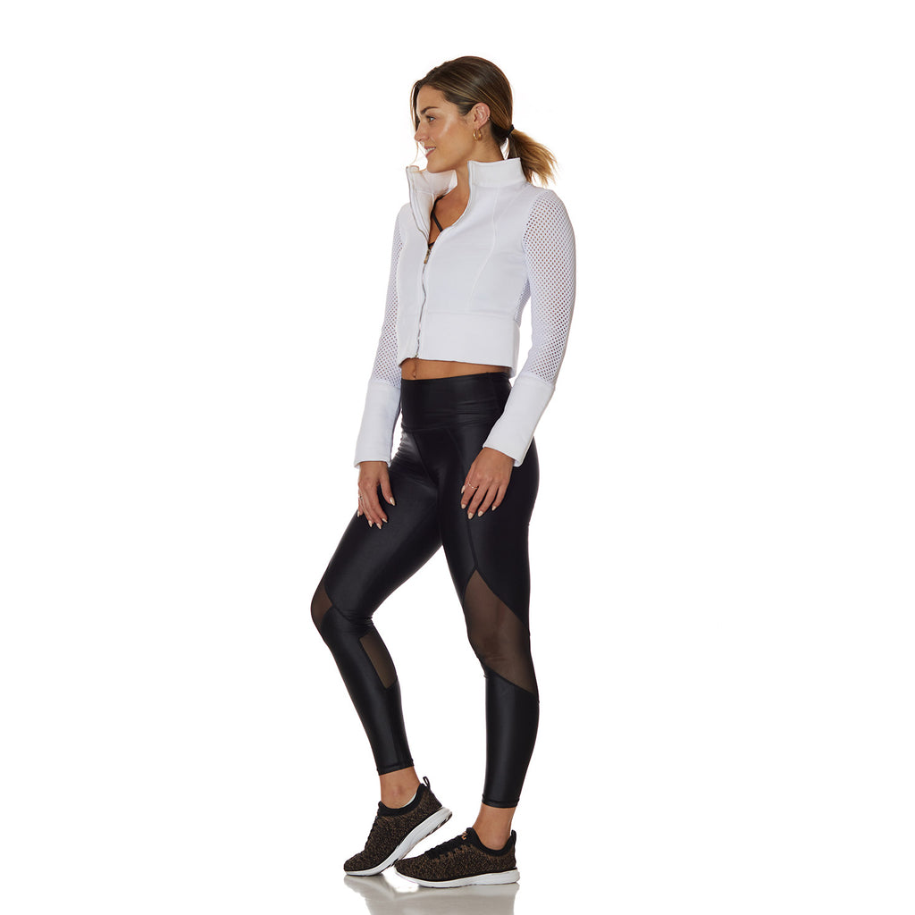 The Stella Jacket White - bodyloveathletica